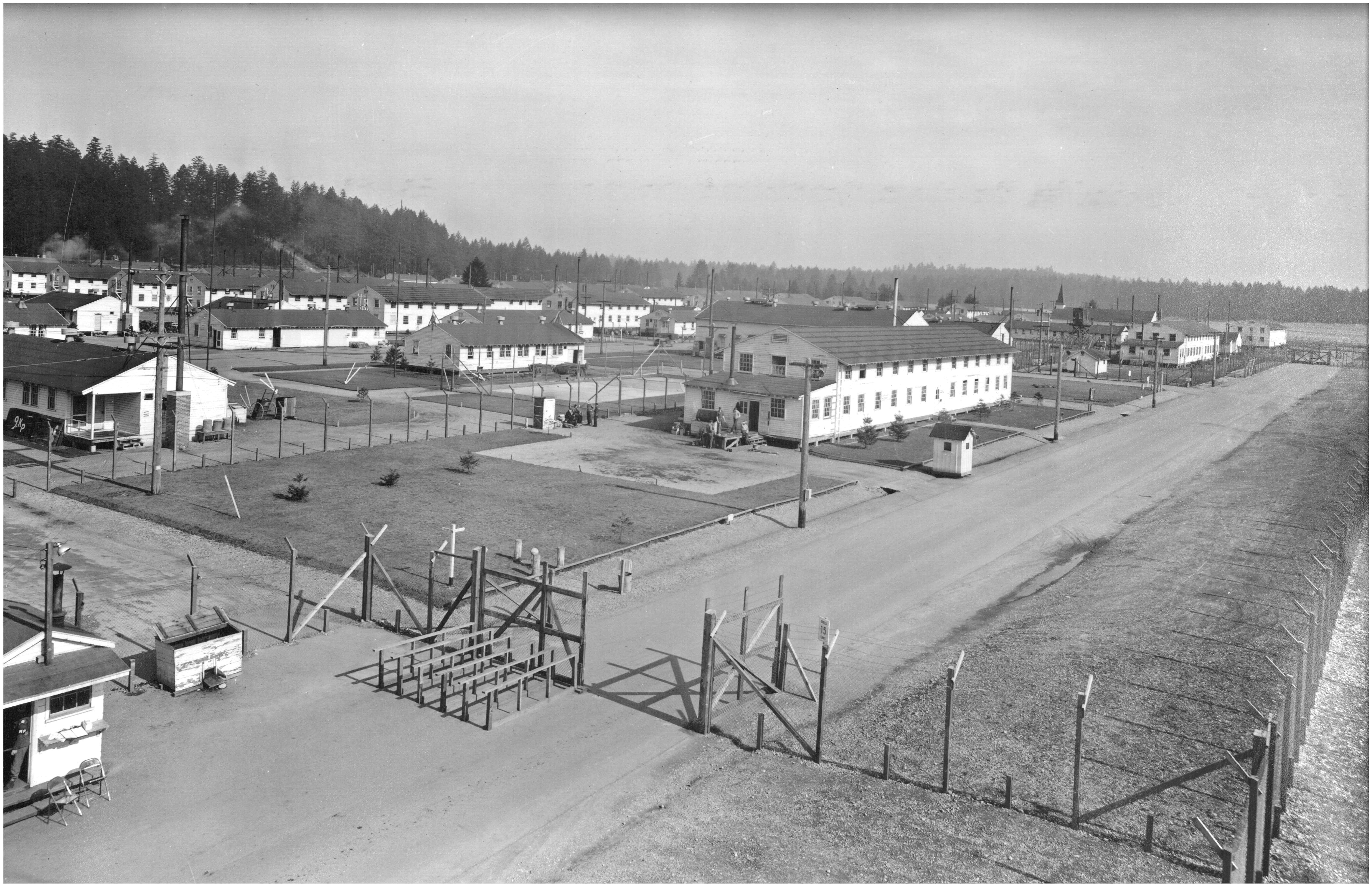 Fort Lewis WWII POW Camp