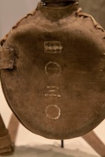 Detail, Japanese Army Water Canteen, circa 1943 (LEW-00291)
