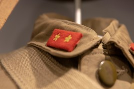 Detail, Japanese Army Fatigue Jacket (LEW-03741)