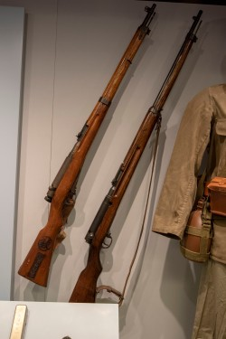 Japanese Army Bolt Action Rifle, Type 99 (LEW-06039), Japanese Army Bolt Action Rifle, Type 38 (LEW-04937)