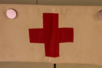 Red Cross Field Medic Brassard