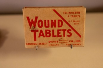 U.S. Army Sulfadiazine Wound Tablets (LEW-11909)