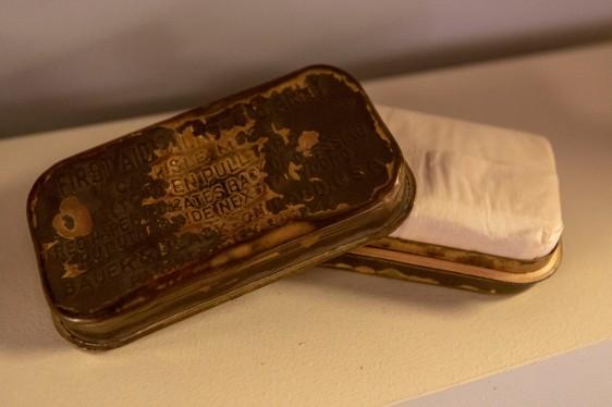 U.S. Army Sulfadiazine Wound Tablets (LEW-08965)