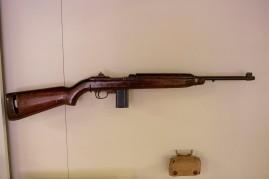 U.S. Army M1 .30 Caliber Carbine (LEW-12894), U.S. Army 1st Aid Pouch (LEW-08289-B)