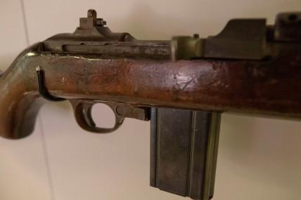 Detail, U.S. Army M1 .30 Caliber Carbine (LEW-12894)