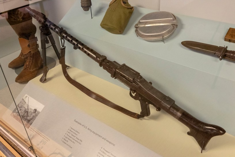 Machine Gun, MG34, German