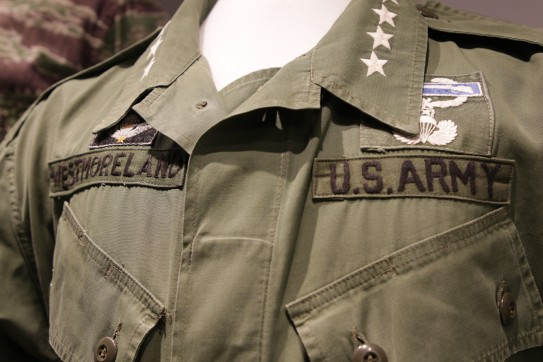 Detail, General Westmoreland's Combat Coat (LEW-01104)