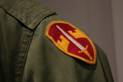 Detail, General Westmoreland's Combat Coat, Military Assistance Command, Vietnam Patch(LEW-01104)