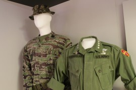 Detail Tiger Stripe uniform and Westmoreland Combat Coat