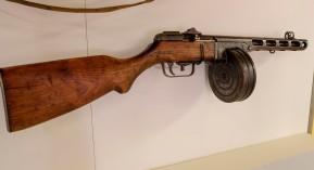 Soviet Submachine Gun, circa 1943 (LEW-00056)
