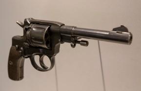 Soviet Army M1895 Revolver, circa 1939 (LEW-00421)