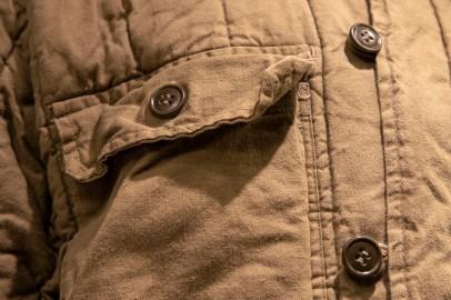 Detail, North Korean Uniforma WInter Coat (LEW-12961)
