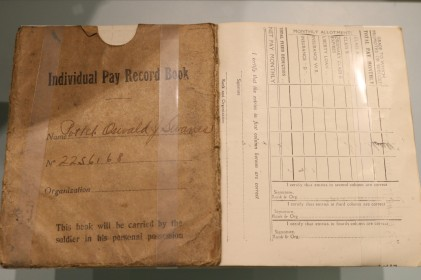 U.S. Army Pay Record Book (LEW-13202)