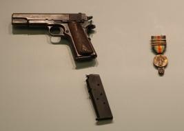 WWI Victory Medal (LEW-13368), M1911 Pistol (LEW-07375)