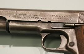 Detail, M1911 Pistol (LEW-07375)